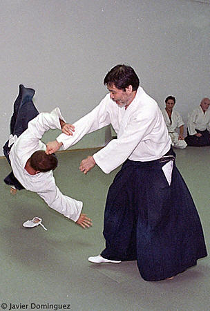 Seiichi Sugano Student of Aikido Founder